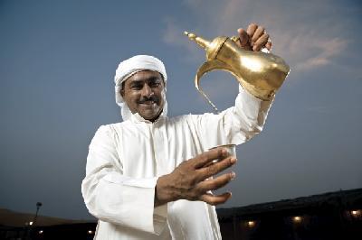 Arabisches Willkommen