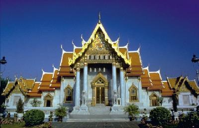 Marble Tempel in Bangkok