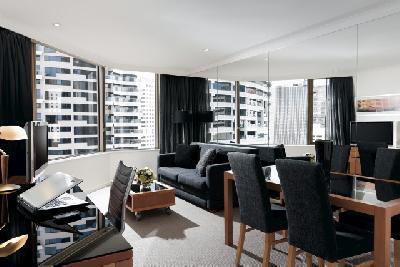 1 Schlafzimmer Apartment mit Stadtblick