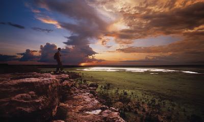 Ubirr Rock Aussicht, Kakadu NP