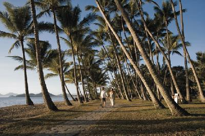 An der Esplanade in Palm Cove