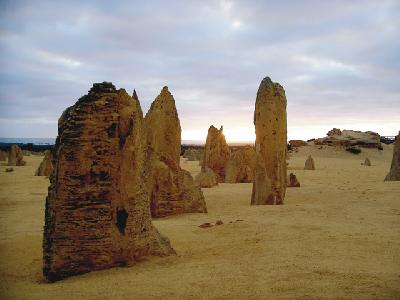 Pinnacles im Nambung Nationalpark