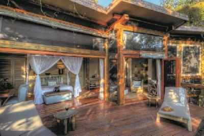 Chalet-Beispiel, Camp Okavango