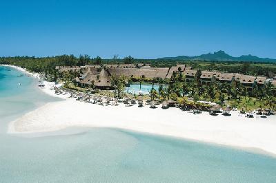 Strand beim Beau Rivage Hotel