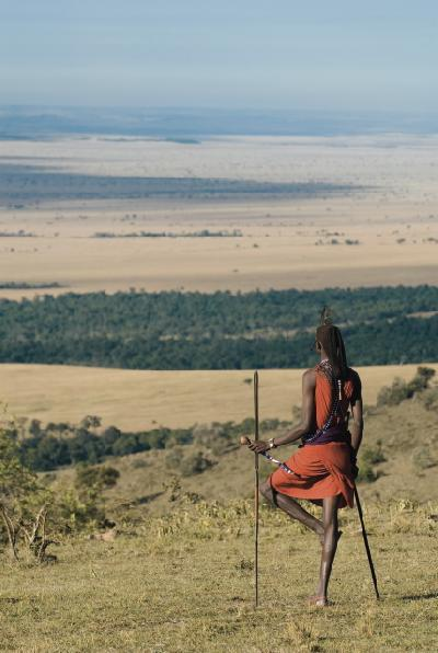 Masai in der Masai Mara