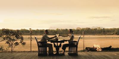 Abendstimmung am Lugenda River