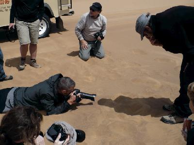 Auf Tuchfühlung mit den Wüstenbewohnern