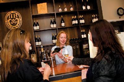 Weinprobe bei Hans Herzog