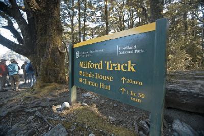 Milford Track Wanderung