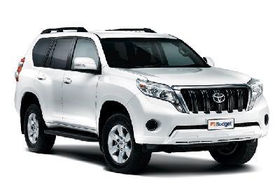 Gruppe W, 4WD Toyota Prado o.ä.