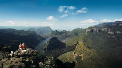 Ausblick am Blyde River Canyon