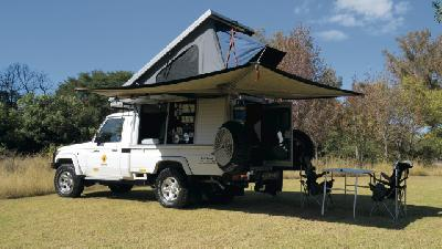 Toyota Landcruiser Bushcamper (Single Cab)