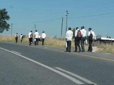 Straße in Südafrika