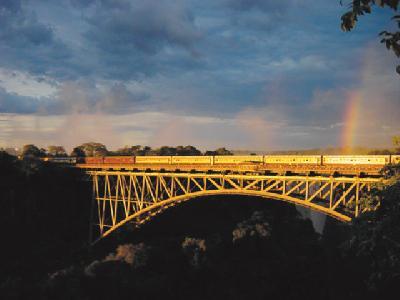 Brücke über den Zambezi