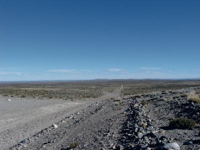 Patagonische Pampa
