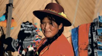 Titicaca See, Bolivien