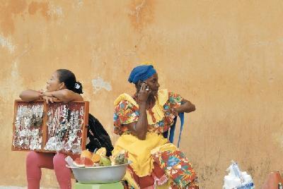 Einheimische Frauen