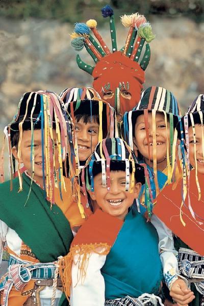 Kinder in Ecuador