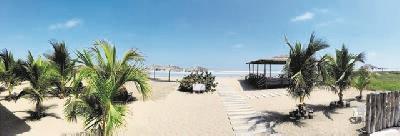 Strand am Hotel Playa Paraiso