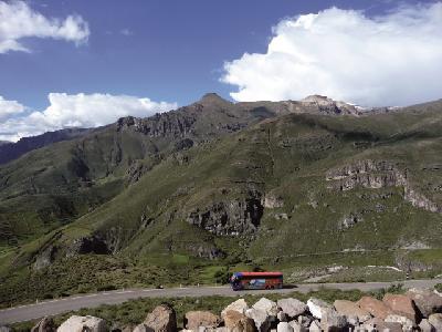 auf dem Weg zum Colca Canyon