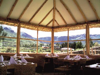 Restaurant in der Killawasi Lodge