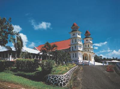 Kirche auf Samoa @KIRKLANDPHOTOS.COM