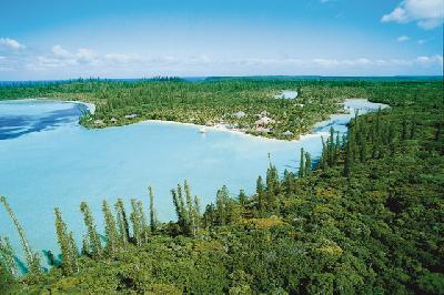 Blick auf die Idporo Bay