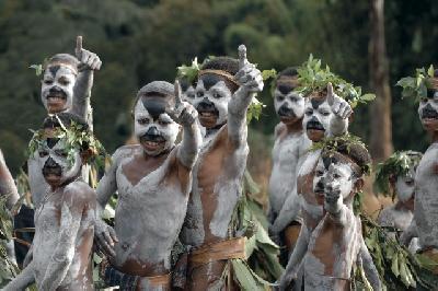 Kinder in Papua-Neuguinea
