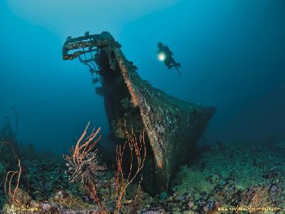 Der Yang Bootswrack ©Don Silcock