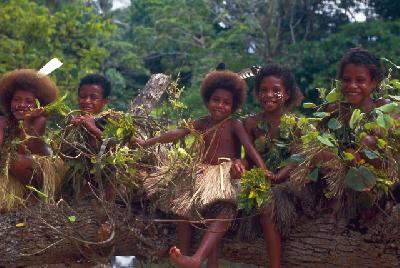 Kinder in Papua