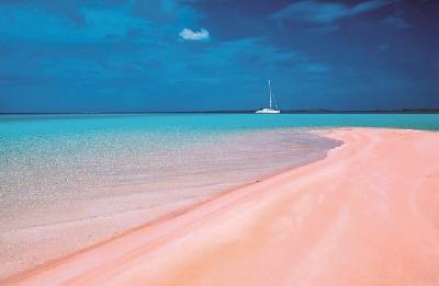Pink Sand auf Rangiroa
