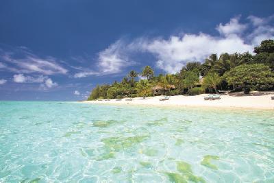 Strand des Pacific Resort Aitutaki