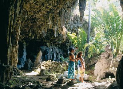 Höhle auf Atiu