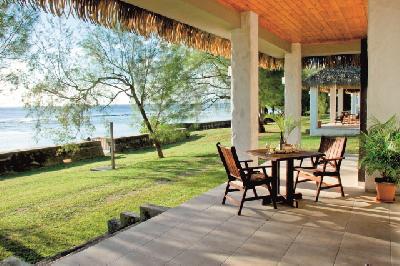 Terrasse der Mangaia Villas