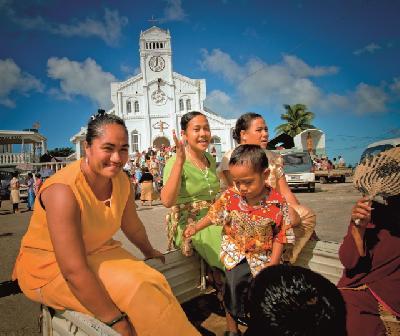 Leben in Tonga (c) J. Blackwood