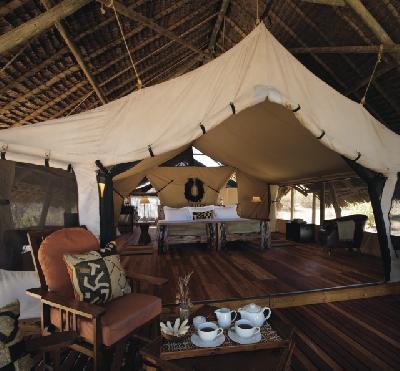 Jongomero Camp im Ruaha Nationalpark