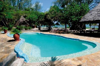 Pool im tropischen Garten
