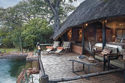 Schwimmbad, Stanley Safari Lodge